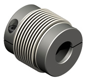 Low cost bellows coupling.  Steel construction.  Three sizes offered and quick delivery available.