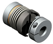 Bellows coupling with pluggable design for easy installation / un-installation.