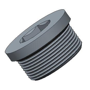 DVSTI-04GED-S316 Blanking Plugs With Ring Ports