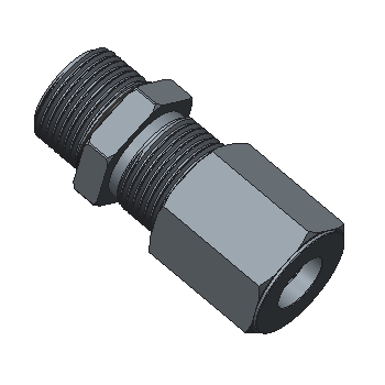 BOM-8T-08U-BRAS O Ring Seal Male Connector