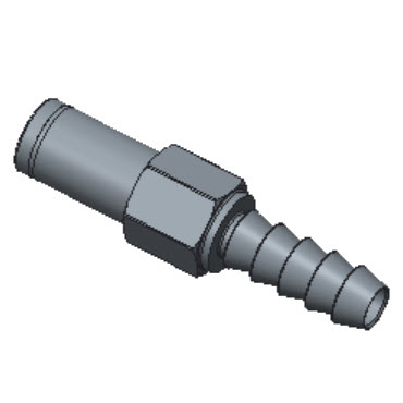 H-HCT2-4-BRAS Hose Connectors To Ports