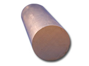 Copper Round Bar - 2 DIA 110 HD COPPER ROUND