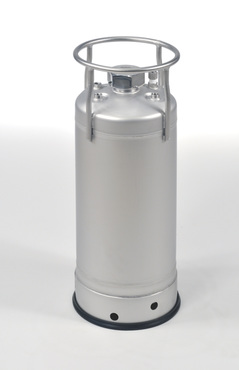 88-55 T-316L with Dip Tube and Electropolished Stock UN Pressure Vessel