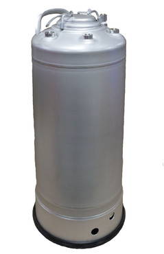 72-05 T-316L Stainless Steel Skirt with Rubber Boot General Purpose Vessel