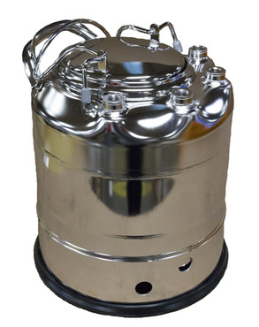 74-02 T-304 Stainless Steel Skirt General Purpose Vessel