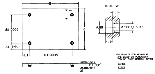 Fixture Plates Drawing
