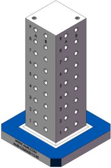 AMR-C060620-12-50 Cube Tombstones