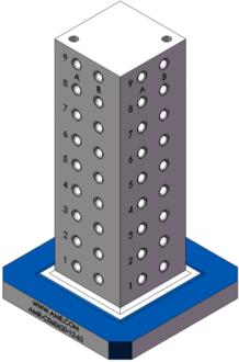 AMR-C060620-12-62 Cube Tombstones