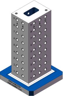 AMR-C060820-12-62 Cube Tombstones