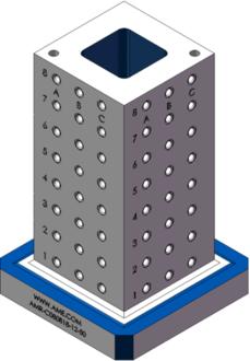 AMR-C080818-12-50 Cube Tombstones