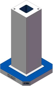 AMR-C080828-16 Cube Tombstones