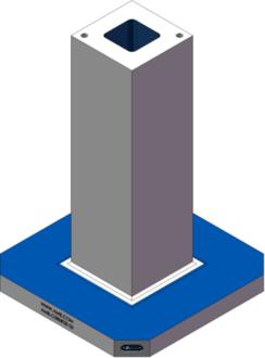 AMR-C080828-20 Cube Tombstones