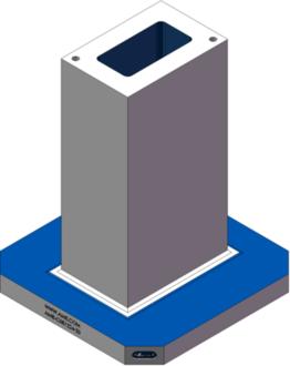 AMR-C081224-20 Cube Tombstones
