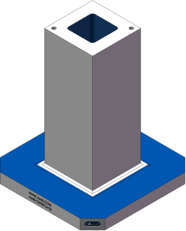 AMR-C090924-20 Cube Tombstones