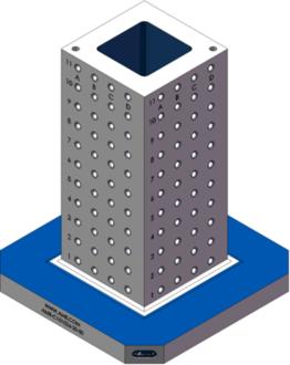 AMR-C101024-20-50 Cube Tombstones