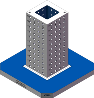 AMR-C101024-25-62 Cube Tombstones