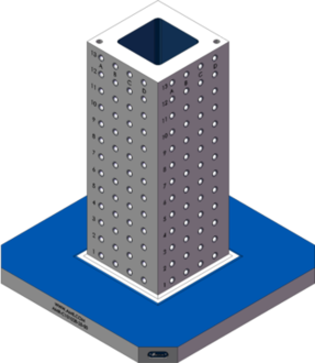 AMR-C101028-25-50 Cube Tombstones