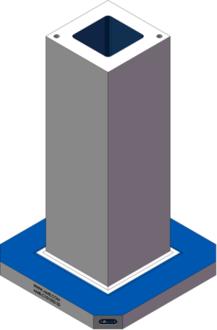 AMR-C101032-20 Cube Tombstones
