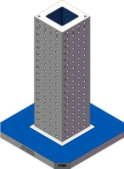 AMR-C101036-25-50 Cube Tombstones