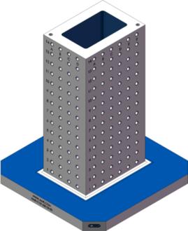 AMR-C101430-25-50 Cube Tombstones
