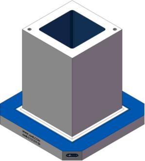 AMR-C121219-20 Cube Tombstones