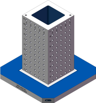 AMR-C121224-25-50 Cube Tombstones