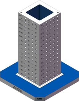 AMR-C121232-25-50 Cube Tombstones