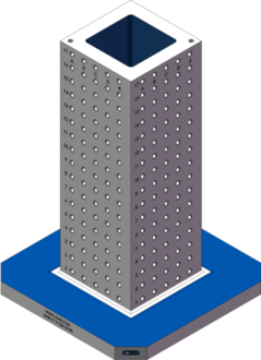AMR-C121236-25-50 Cube Tombstones