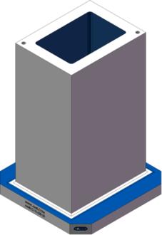 AMR-C121628-20 Cube Tombstones