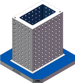 AMR-C121824-25-62 Cube Tombstones