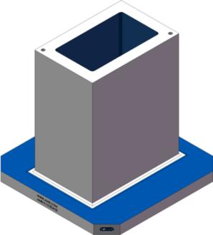 AMR-C121824-25 Cube Tombstones