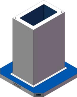 AMR-C121830-25 Cube Tombstones