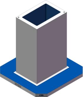 AMR-C142034-32 Cube Tombstones