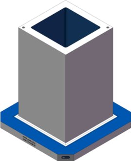 AMR-C161628-25 Cube Tombstones