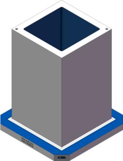 AMR-C181830-25 Cube Tombstones