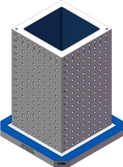 AMR-C181832-25-50 Cube Tombstones