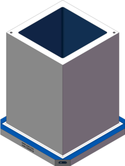 AMR-C202030-25 Cube Tombstones