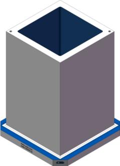 AMR-C202032-25 Cube Tombstones