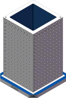 AMR-C202036-25-50 Cube Tombstones