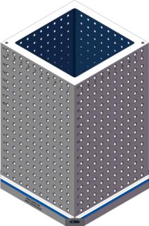 AMR-C222236-25-62 Cube Tombstones