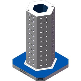 AMR-H050924-16-50 Hexagon Angle Tombstones