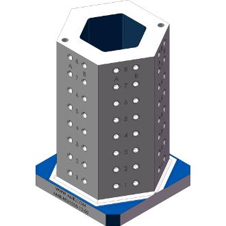 AMR-H061018-12-50 Hexagon Angle Tombstones