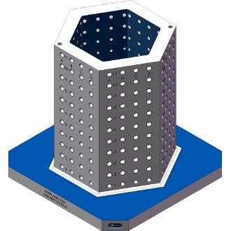 AMR-H091624-25-62 Hexagon Angle Tombstones