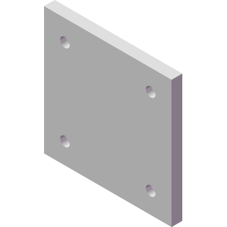 AMF-P0618-01-50 Fixture Plate