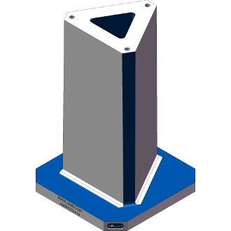 AMR-T1024-16 Triangle Angle Tombstones