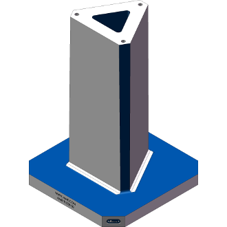 AMR-T1028-20 Triangle Angle Tombstones