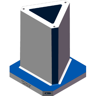 AMR-T1424-20 Triangle Angle Tombstones