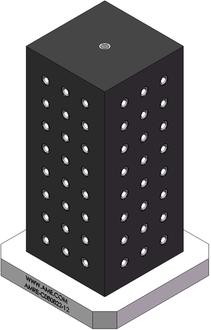 AMRE-C080820-12 Cube Tombstones