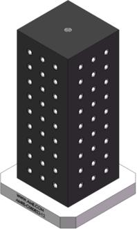 AMRE-C080822-12 Cube Tombstones