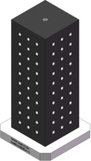 AMRE-C080824-12 Cube Tombstones